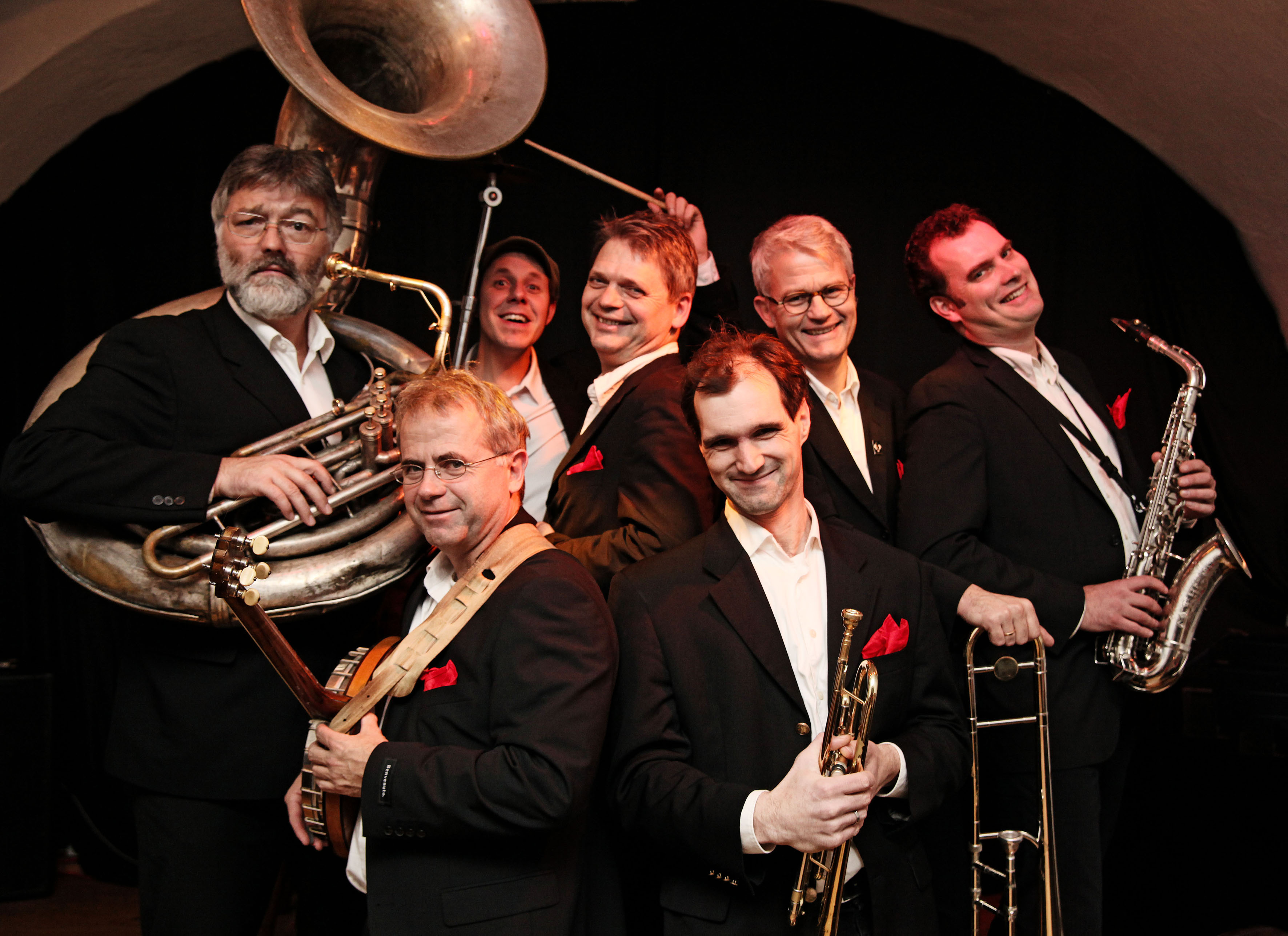 Jazzmatinee mit Redhouse Hot Six
